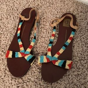 Dolce Vita Beaded Sandals